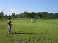 Name: 2006-june-8-06.jpg Views: 453 Size: 55.9 KB Description: My son landing his geared Hacker B50L powered Zen-90 pattern plane.