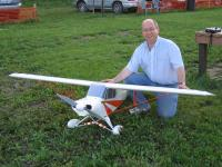 Name: 2006-june-8-04.jpg Views: 592 Size: 89.2 KB Description: That's me with my big Super Cub, at our club.