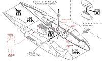 Name: Mod_fuselage_A6.jpg Views: 281 Size: 163.6 KB Description: Kyosho A6 Intruder EDF fuselage modifications