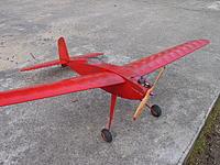 Name: Corsaire_avant_droit.jpg Views: 93 Size: 279.4 KB Description: Corsaire, rudder-only, Taifun Zyklon 2.5cc diesel
