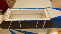 Name: 20200323_011045.jpg Views: 50 Size: 377.7 KB Description: all the wing pit is covered with a layer of 3mm vector board to avoid the depron to crack in case of crash