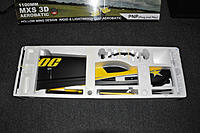 """Name: open-box.jpg Views: 90 Size: 259.3 KB Description: At the box opening, i admit that my first impression was """"WOW !!""""...  At first sight, all the parts seems to be premium quality and the flat back and bright yellow paint scheme REALLY ROCKS"""