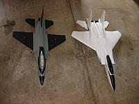 Name: DSC00918.jpg Views: 230 Size: 64.4 KB Description: Comparison of the HK F16 next to the HK F15.