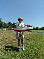 Name: Spring Lake - 2011 080.jpg Views: 206 Size: 174.4 KB Description: Marvin and his original kit built 63'.  Boththis one and Tony' were built 25 years ago.  And they still run well today.