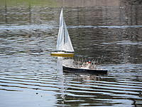 Name: Spring Lake - 2011 086.jpg Views: 153 Size: 305.8 KB Description: I know this does not belong on this thread but it is a Sterling American Scout .  Today was a good day for the Sterling owners.