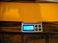 Name: DSCN4258.jpg Views: 384 Size: 98.9 KB Description: Wing weighs about 10.3g after mods, but actual weight gain could have been .05g