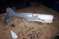 Name: Kittyhawk 23 May 09 005.jpg Views: 1181 Size: 91.2 KB Description: Covering started. Tail end is done, working forward,
