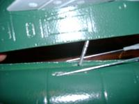 Name: 7-15-09  rudder hole not lining up 002.jpg Views: 217 Size: 24.6 KB Description:
