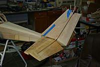 Name: IMG_1560.jpg Views: 403 Size: 58.9 KB Description: Rudder mounted on bridge mounted on stab