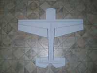 Name: EPPEdge540TProgress2.jpg Views: 72 Size: 102.7 KB Description: Horizontal parts glued, wing and elevator hinged using Welders Glue, and ready for painting.
