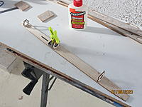 Name: IMG_3758.JPG Views: 89 Size: 2.12 MB Description: This is how I clamp the formers to make them square.  I got inexpensive machinist's blocks from Micro Mark, but you can get a dozen wooden cubes, one inch on a side, from Hobby Lobby for about $12.