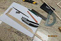 Name: IMG_1598.jpg Views: 420 Size: 668.8 KB Description: The best tools I've found for separating parts from the carrier. The box cutter works well on plywood; the razor blade on all thicknesses of balsa. The nail file works well for smoothing the interiors of holes.