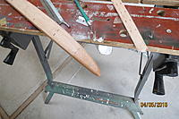 Name: IMG_1668.jpg Views: 440 Size: 651.8 KB Description: Here's a fuselage, trimmed and ready for spackle.
