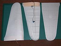 Name: DSCF2033.jpg Views: 153 Size: 45.8 KB Description: one panel sheeted and one ready to glue up with UHO por