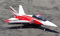 BNIB - Taft Hobby Red Super Scorpion 90mm V2 RC EDF Jet - KIT