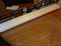 """Name: DSC00718.jpg Views: 253 Size: 30.1 KB Description: 3/16"""" LE glued in place. Jig is really only necessary for the 2 outer bays. The rest is held really stiff by the sleeve."""