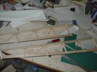 Name: DSC00748.jpg Views: 248 Size: 34.3 KB Description: Ailerons ready to cover. Note added structure and carbon fiber TE.