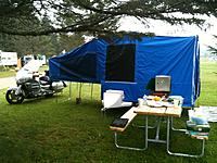 Name: NEAT2013.JPG Views: 42 Size: 357.2 KB Description: My tent/camper and bike at the 2012 NEAT