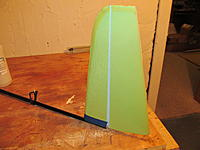 Name: IMG_0323.jpg Views: 152 Size: 172.6 KB Description: Tacked on with 5-min, just make sure its centered on the boom. In the following posts we will wrap it with kevlar.