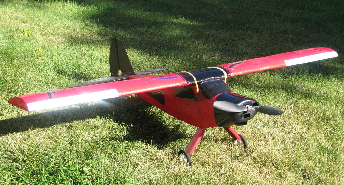 Name: IMG_2545.jpg Views: 102 Size: 300.8 KB Description: Modified clipped wing Super Cub - recently arrived from Tennessee...