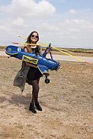 Name: thumbnail_IMG_1610.jpg Views: 46 Size: 292.0 KB Description: Miss Laura de la Cierva great-granddaughter of D Juan de la Cierva with my PCA 2 during the past meeting autogyros im Murcia 2017