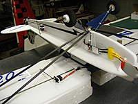 Name: DSCF0291.jpg Views: 160 Size: 81.2 KB Description: Final position landing gear covers clear wing struts.