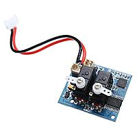 """Name: 41zPxwcxGaL.jpg Views: 3 Size: 26.2 KB Description: the wltoys f949 """"brick""""; the other 2 plugs are for brushed motor and either another servo (? ailerons), or a brushless 1s esc if you wish"""