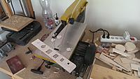 Name: IMAG2777.jpg Views: 67 Size: 1,020.3 KB Description: On to the saw, first the inner cutouts are made.