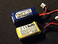 Name: Helios build 2 338.jpg Views: 259 Size: 292.4 KB Description: New LiFE packs that I am going to try out, they weigh 30g as opposed to to the 20g lipo, but when you include the regulator which is required for the lipo, the LiFE pack only weighs 3g more