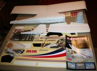 Name: Unpacked Kit.jpg Views: 361 Size: 69.6 KB Description: Everything in A-1 condition. Even the winglets on the main wing are unharmed.