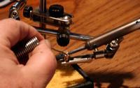 Name: Bullet Add Solder.jpg Views: 290 Size: 51.5 KB Description: Add solder letting the hot bullet connector melt the solder, not the soldering iron. Soldering iron gets the bullet connector hot while the bullet connector melts the solder.