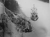 """Name: image0005.jpg Views: 288 Size: 42.0 KB Description: Cords of wood. Page 41, """"Yukon river steamboats"""""""