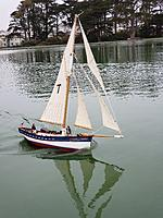 Name: 20210514_095832.jpg Views: 93 Size: 4.44 MB Description: Here is Tatty-byes on her first round of sea trials.