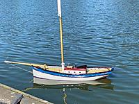 Name: PC Super Secret Boat Testing 3 2 26 20.jpg Views: 72 Size: 27.7 KB Description: Prior to adding her sails, she was float tested and all looked good.
