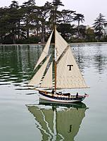 Name: 20210514_124412.jpg Views: 84 Size: 2.24 MB Description: Many months after she was float tested, she was fully rigged and sailing.