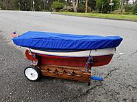 Name: PC Boat Cover 3.jpg Views: 58 Size: 5.52 MB Description: Here is Tatty-byes with her boat cover installed and ready to go home.