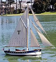 Name: PC Sea Trials 2 6 16 21.jpg Views: 36 Size: 2.49 MB Description: Tatty-byes did pretty good today and looked beautiful in the process.   No changes planned to her rig...time to sail!