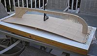 Name: Sub-deck Weymouth.jpg Views: 279 Size: 185.0 KB Description: The frame will be assembled dry (no glue) and the outline of the sub-deck will be marked and cut once the boat's shape is revealed.