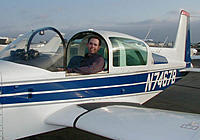 """Name: daren_tiger.jpg Views: 63 Size: 44.8 KB Description: A """"beauty"""" shot after returning from my solo at Corona airport in So. California."""