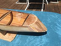 Name: Draketail transom, initial planking.jpg