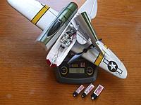 Name: p47 004.jpg Views: 288 Size: 220.9 KB Description: Nine eagles p-47 parts and Parkzone bits 31g