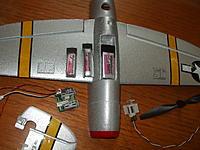 Name: p47 005.jpg Views: 308 Size: 270.5 KB Description: Nine eagles p-47 battery slot will even accommodate the MEGA Miniaviation 300mAh 30C battery Platinum Edition Battery