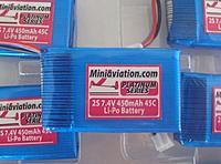 Name: miniaviation 450 45c.jpg Views: 54 Size: 35.3 KB Description: Miniaviation 2s 7.4 450mAh 45C Li-Po