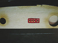 Name: Deans connector.jpg Views: 59 Size: 102.8 KB Description: Connector in the wing root. Still needs to be glued in place.
