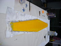 Name: 9_oz_cloth.jpg Views: 339 Size: 60.6 KB Description: First of 4 sessions for wing, 2 layers on top, 2 on bottom (with cf layer between)
