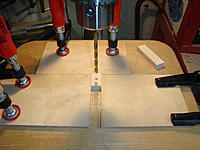 Name: DSC03693.jpg Views: 199 Size: 194.1 KB Description: Set-up for drilling the fixture press foot.