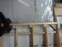 Name: DSC03946.jpg Views: 109 Size: 145.4 KB Description: High-density foam blocks will insure even clamping pressure along the gussets. Glue will not stick to the blocks.