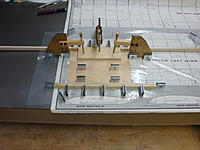 Name: DSC03961.jpg Views: 149 Size: 168.1 KB Description: Bottom wing center section sheeting being joined to rear spar.