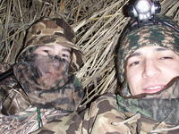 Name: All the junk 091.jpg Views: 204 Size: 170.7 KB Description: my and my sister boyfriend goose hunting (its completely black right there and about 5am)