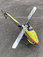 Name: IMG_3486.jpg Views: 138 Size: 5.44 MB Description: My first SAB heli.  Originally flew it on 12s, but ended up really liking it at medium head speed on 10s.
